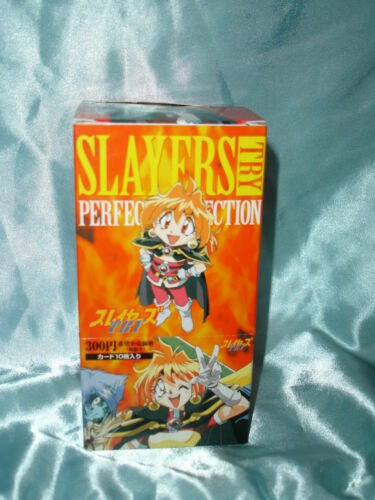 Slayers Try Trading Card Box Anime Japanese Import (15 packs) *New/ Unopened*