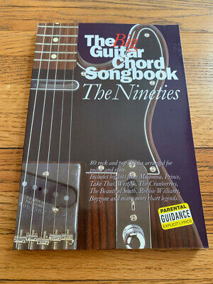 The Big Guitar Chord Songbook. The Nineties (Paperback book, (Chord Guitar Big Book)