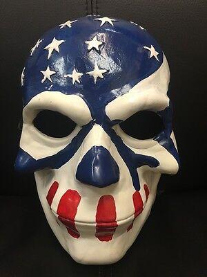 The Purge Wahl Year 1 2 3 Glasfaser Kostüm Maske Erwachsene Kinder Anarchie