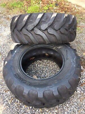 2 New Camso Bhl532 17.5l-24 Backhoe Tires-10pr-r4-17.5lx24- For Case Cat More