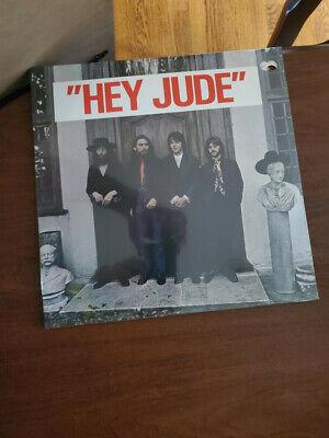 "Original Beatles Hey Jude album, STILL SEALED, Rare ""Hey Jude"" banner across top"
