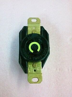 Hubbell Twist Lock 20 A 125 V Female Receptacle Socket
