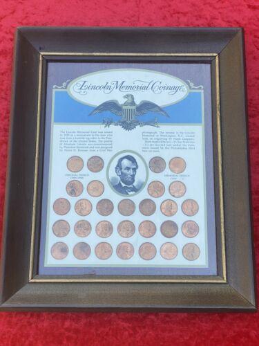 Lincoln Memorial Cent Framed Artwork