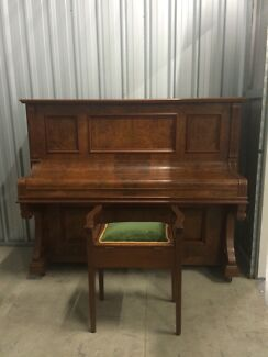Linke Berlin upright piano and stool Lane Cove West Lane Cove Area Preview