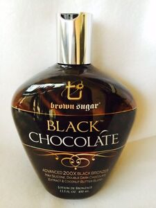 2014 Black Chocolate 200X Black Bronzer Tanning Bed Lotion Brown Sugar TAN INC ★