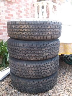 CHEAP 4 x 215 75 R15 Hankook 4x4 light truck wheels  Liverpool Liverpool Area Preview
