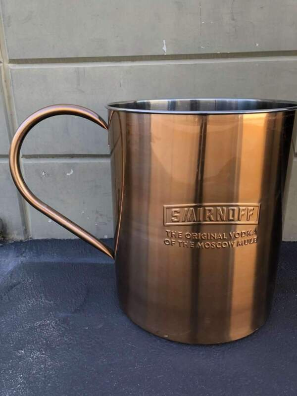 Smirnoff Alcohol Moscow Mule Cooper Cup 2.5 Ft Store Display