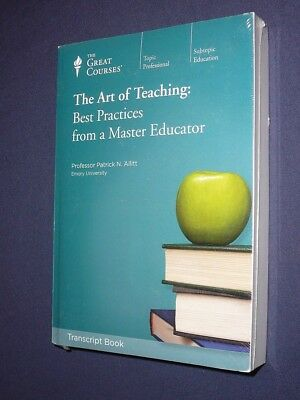 Teaching Co Great Courses TRANSCRIPTS :      THE ART OF TEACHING  Best