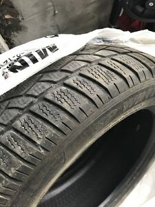 Dunlop winter sport run flat  245 50 r18