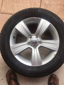 Brand new tyres with wheel Wetherill Park Fairfield Area Preview