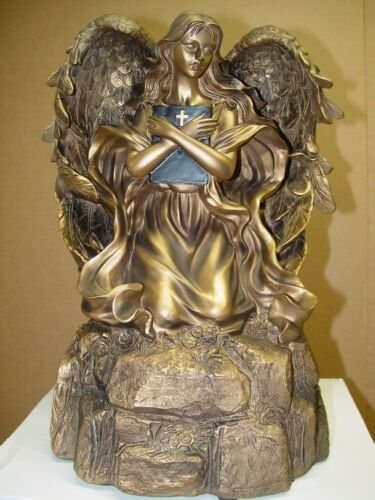 Eternal Reflections Bronze Angel Large Memorial Cremation Urn For Ashes