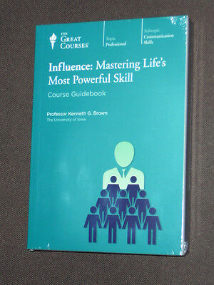 Teaching Co Great Courses CDs   INFLUENCE  MASTERING LIFE'S POWERFUL SKILL
