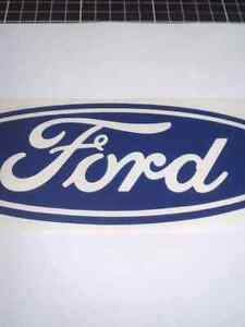 Large Ford Blue 500mm Wide Digitally cut Vinyl sticker McCrae Mornington Peninsula Preview