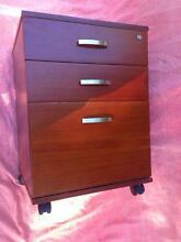 Nice brown draw cabinet with wheels Horseshoe Bend Maitland Area Preview