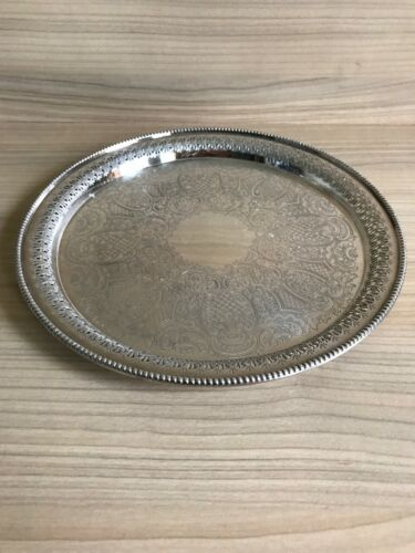 Superb Silver Plated Copper drinks Tray
