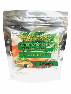 Energybolizer Slimming Tea, Lose Weight, Cleanse colon,Orange, Olaax