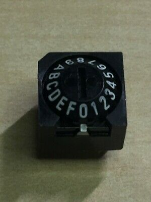 Omron Rotary Dip Switch A6a-16r Cone Type