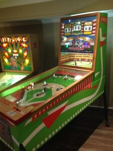 RARE 1960S WILLIAMS OFFICIAL BASEBALL PINBALL ARCADE GAME