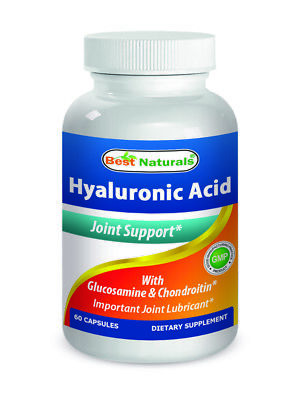 Best Naturals  Hyaluronic Acid 100 Mg 60 Capsules  Joint Health