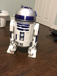 R2-D2 Light up, and Moving - BATTERIES INCLUDED