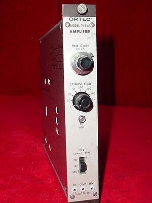 Egg Ortec Amplifier 716a Nim Bin Plug-in Module