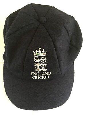 CLASSIC MELTON CRCKET CAP ENGLAND LOGO NAVY TEST STYLE
