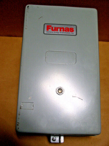 Furnas  NEMA 1 General Purpose Enclosure with Reset NEW use for MOTOR STARTER