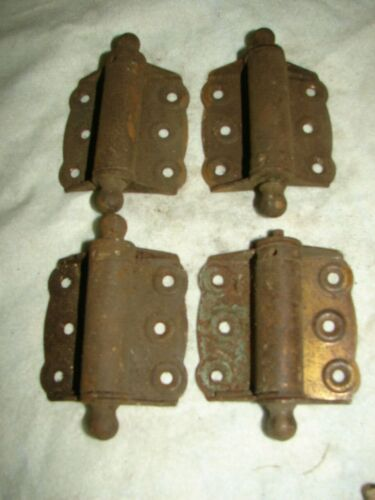 4 Antique Screen Door Hinges