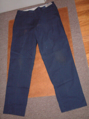 Aramark Work Pants  36X34  36 Waist  32 Inseam  Navy Blue