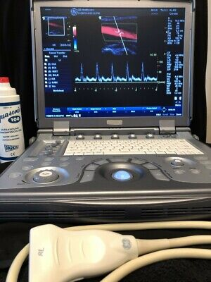 Ge Logic E 2011 Portable Ultrasound Machine 8l -rs Liner Probe
