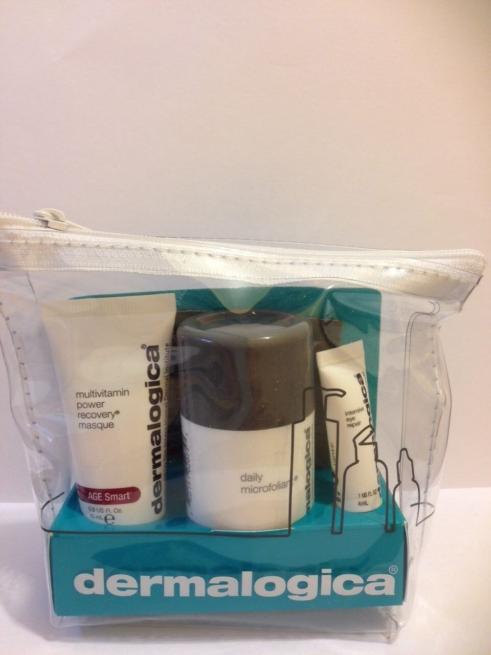 Dermalogica travel kit 3 products:intensive eye,recovery mas