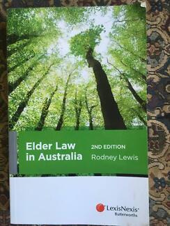 Law textbook - Elder Law in Australia