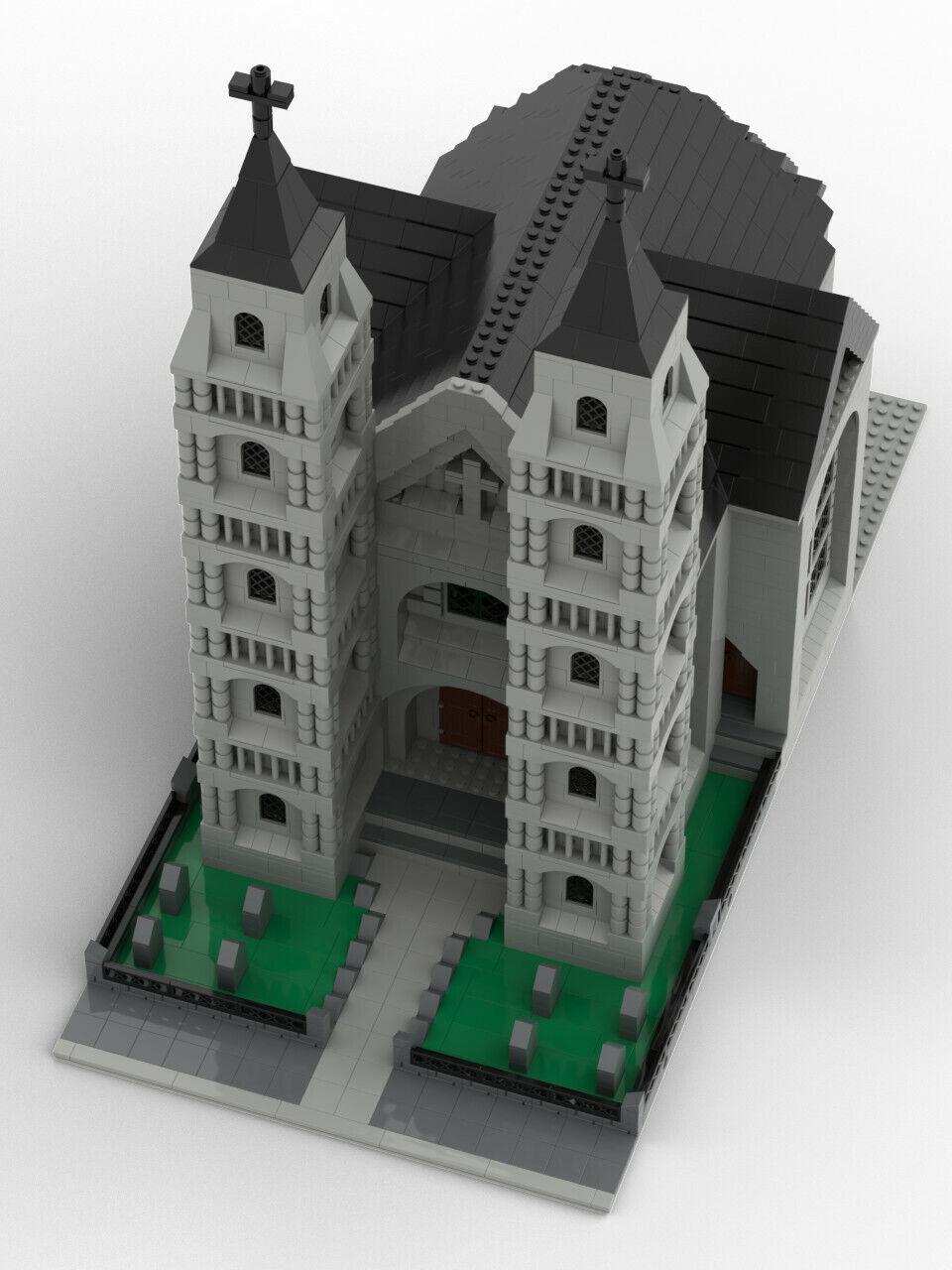 Lego MOC Modular church - pdf instructions only | Shopping Bin - Search  eBay faster