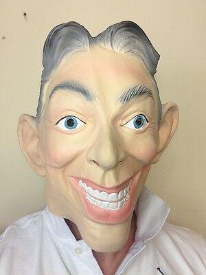 Latex Masken Uk (Tony Blair Latex Gummi Maske Ex England UK Premierminister Kostüm)