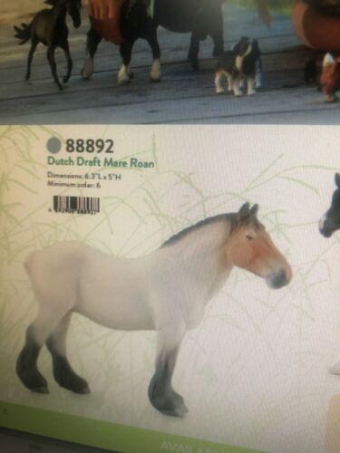 Breyer Dutch Draft Mare Roan No. 88892 New