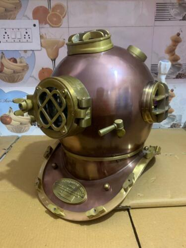 Divers US navy diving helmet antique divers helmet full size for home decor gift