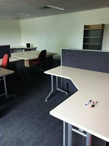 High quality office desks, Free Dividers, Chair and Bookshelf fo Eight Mile Plains Brisbane South West Preview