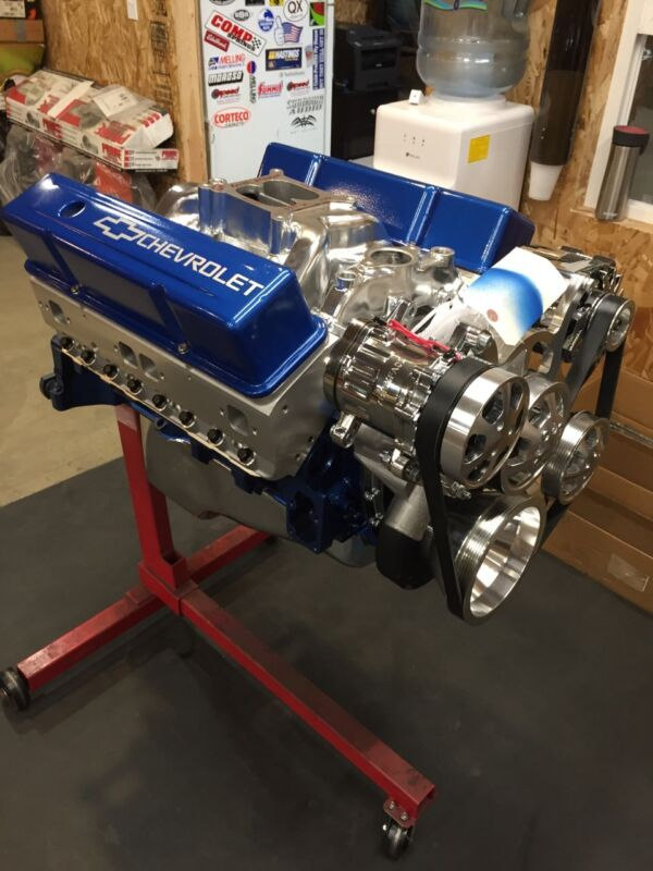 383 STROKER CRATE MOTOR 400-500HP SBC WITH A/C ROLLER TURN