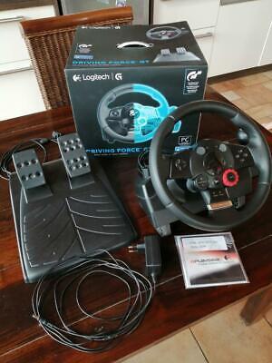Logitech Driving Force GT PC PS3 Lenkrad und Pedale