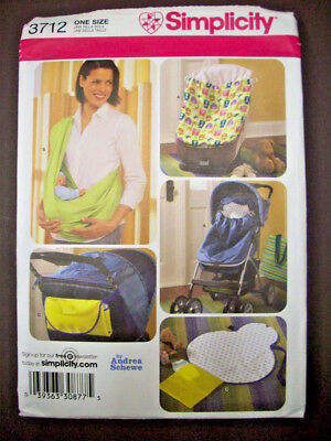 Baby accessories car seat bunting sling carrier changing mat pattern 3712 (Bunting Mat)