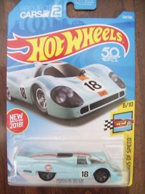 1971 LE MANS 24 John WYER PORSCHE 917 P.RODRIGUEZ / J.OLIVER 1/64 HOT WHEELS NEW
