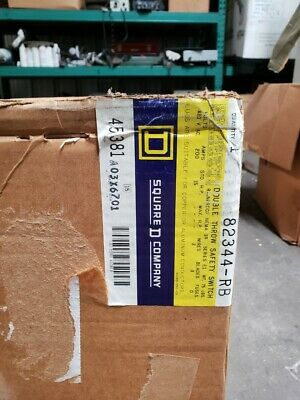 Square D 200 Amp Non-fusible Double Throw Safety Transfer Switch