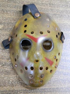 Halloween Film Jason (HALLOWEEN HORROR MOVIE PROP - Jason Dark Hockey Mask Friday the 13th USA)
