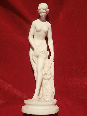 antike Alabaster Skulptur Statue Figur Frauenakt Göttin