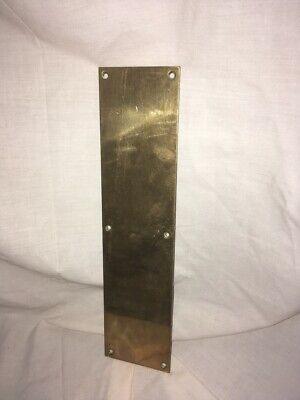 Original Reclaimed Brass  Finger Plates