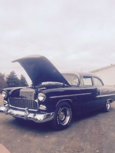 1955 Chevy Bel Air two post