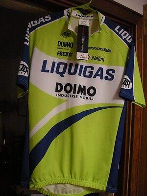 NALINI Liquigas Team Cycling Jersey Men s Size 5-XL New 9d92760a4