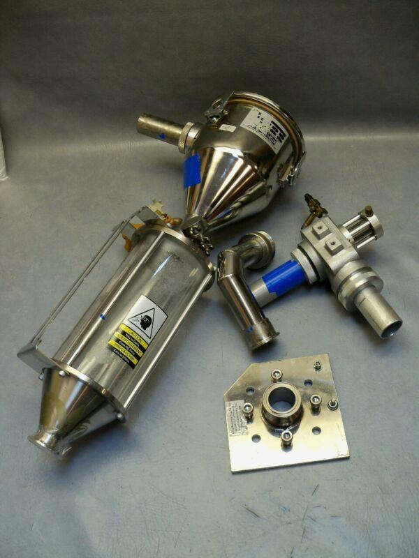 33oz K-Loader K2CR Conair Hopper 29044309-Cylinder Central Vacuum Receiver