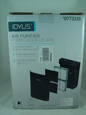 Idylis 3-speed 139.5-sq FT HEPA Air Purifier Home Small Cleaner Allergies Filter