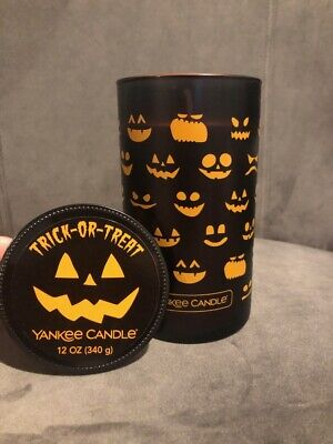 Yankee Candle TRICK OR TREAT 12 oz PERFECT PILLAR HALLOWEEN